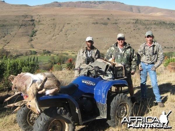 Mountain Reedbuck Hunting Mankazana Valley