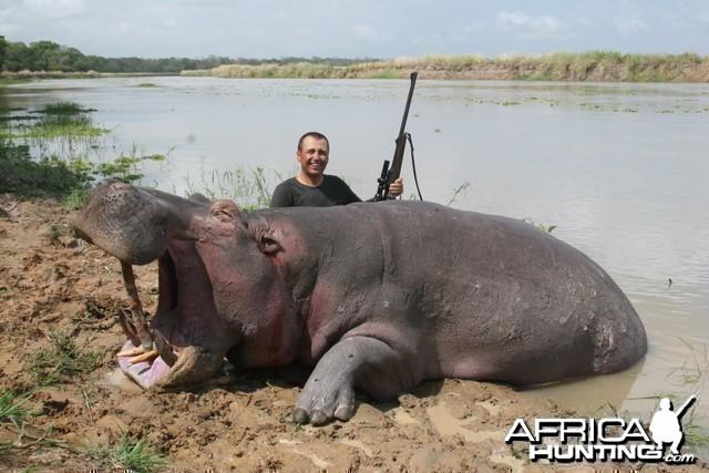 Hippo Hunt Tanzania