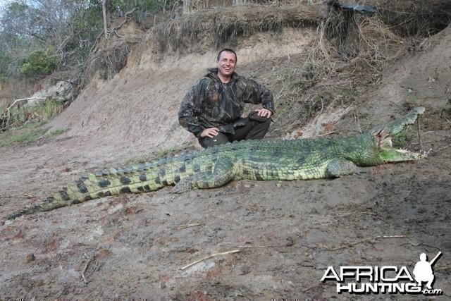 Croc Hunt in Tanzania