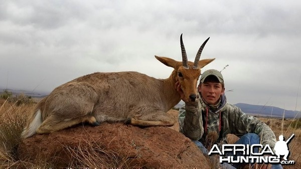 Excellent chance to hunt rowland Ward quality Mountain Reedbuck.