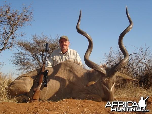 Kudu hunted with Lianga Safaris