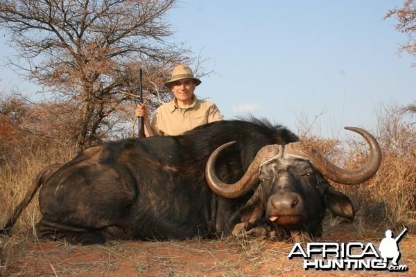 Buffalo hunted with Lianga Safaris