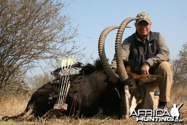 Sable hunted with Lianga Safaris