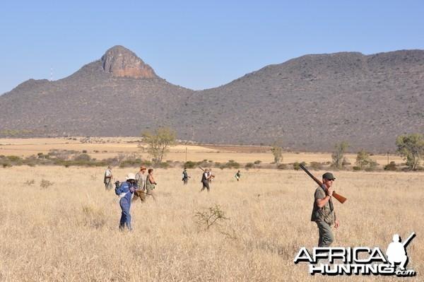 Wing Shooting with Lianga Safaris