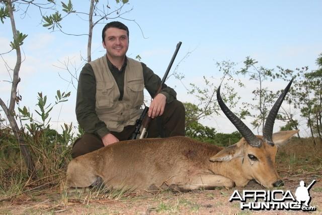 Reedbuck hunting Tanzania