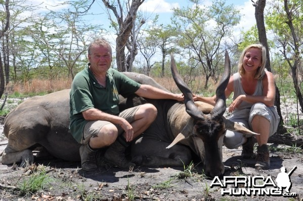 Hunting in the Selous Eland