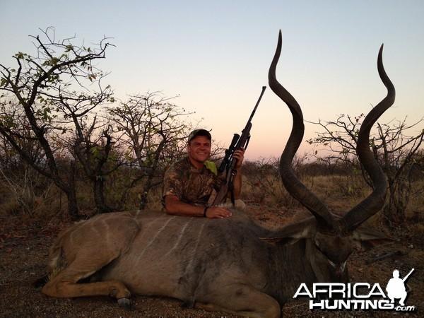 Namibian 62 inch Kudu Bull