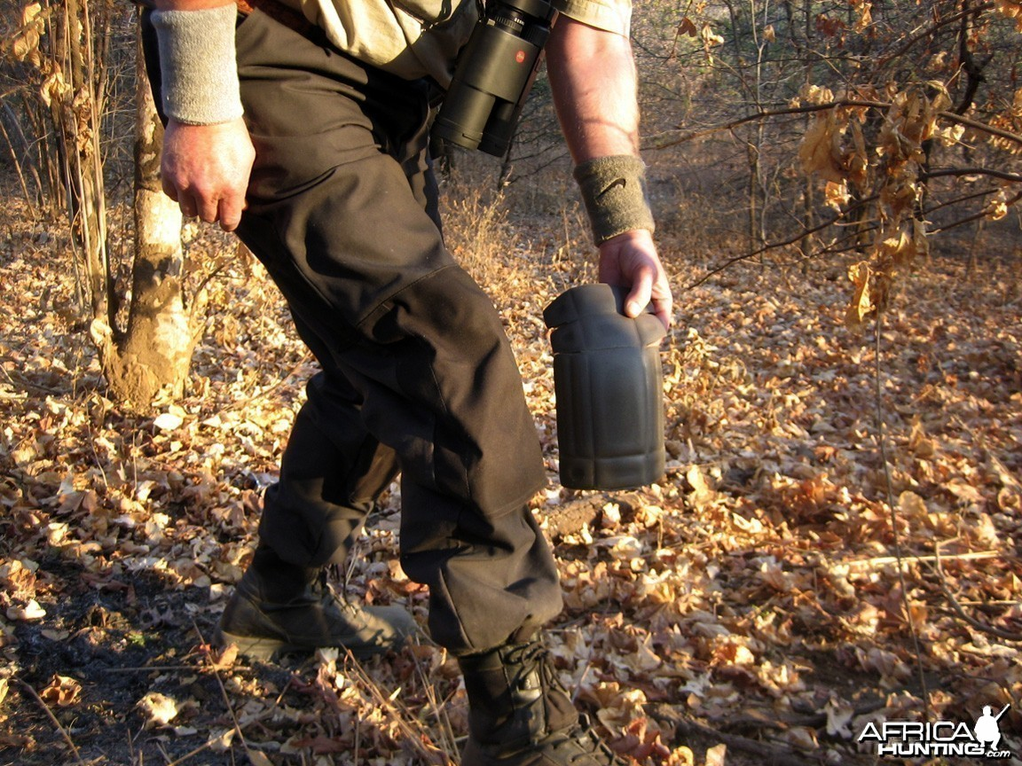 Knee pads for going handgun hunting - lots of crawling
