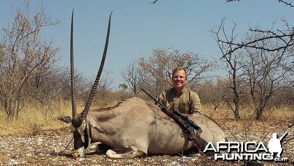 Gemsbok 44 1/2 inches
