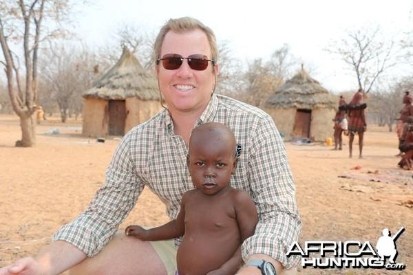 Orphan Himba at Himba Village