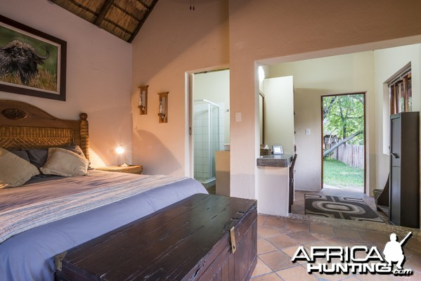 Spear safari camp room