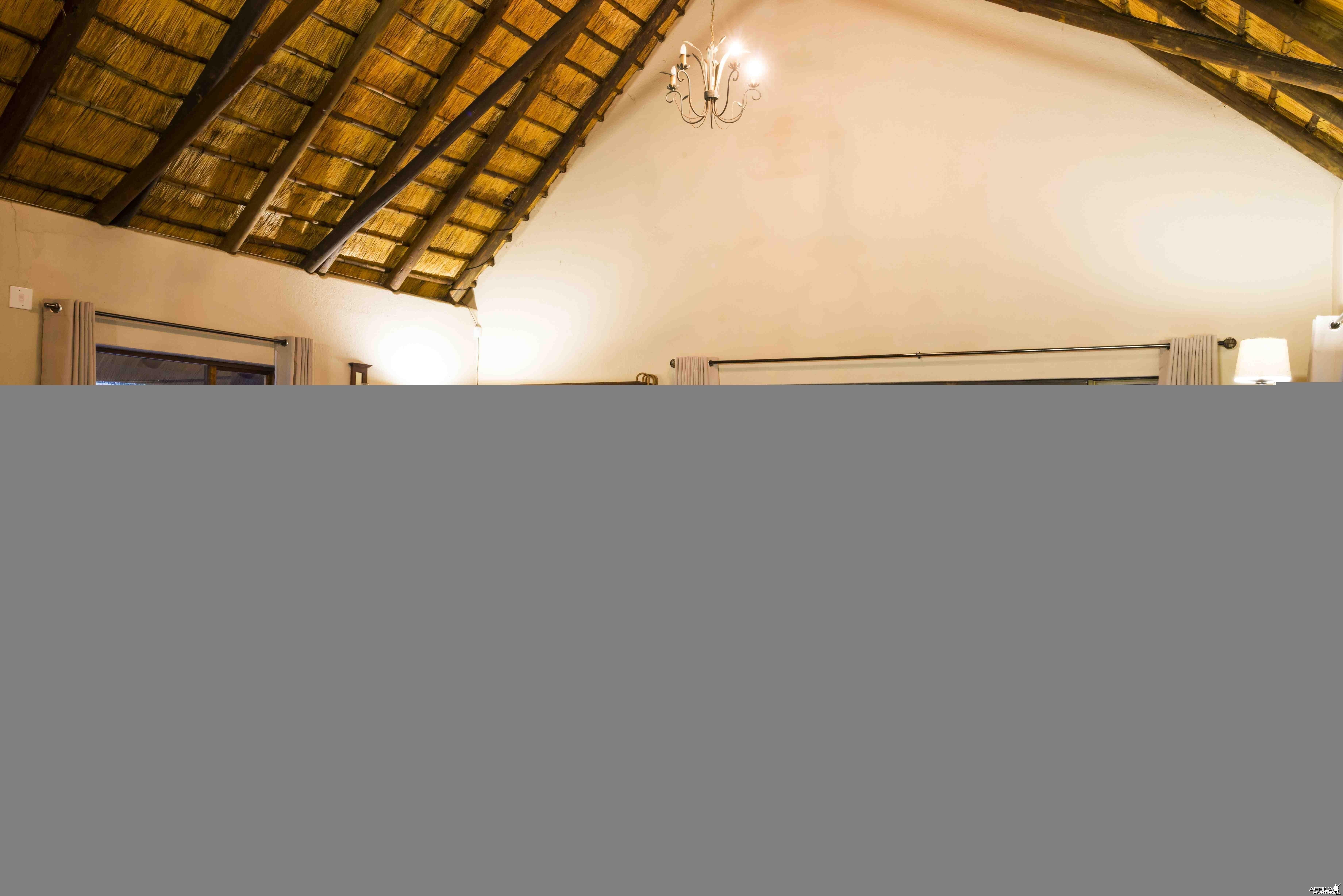 Spear Safari camp dining