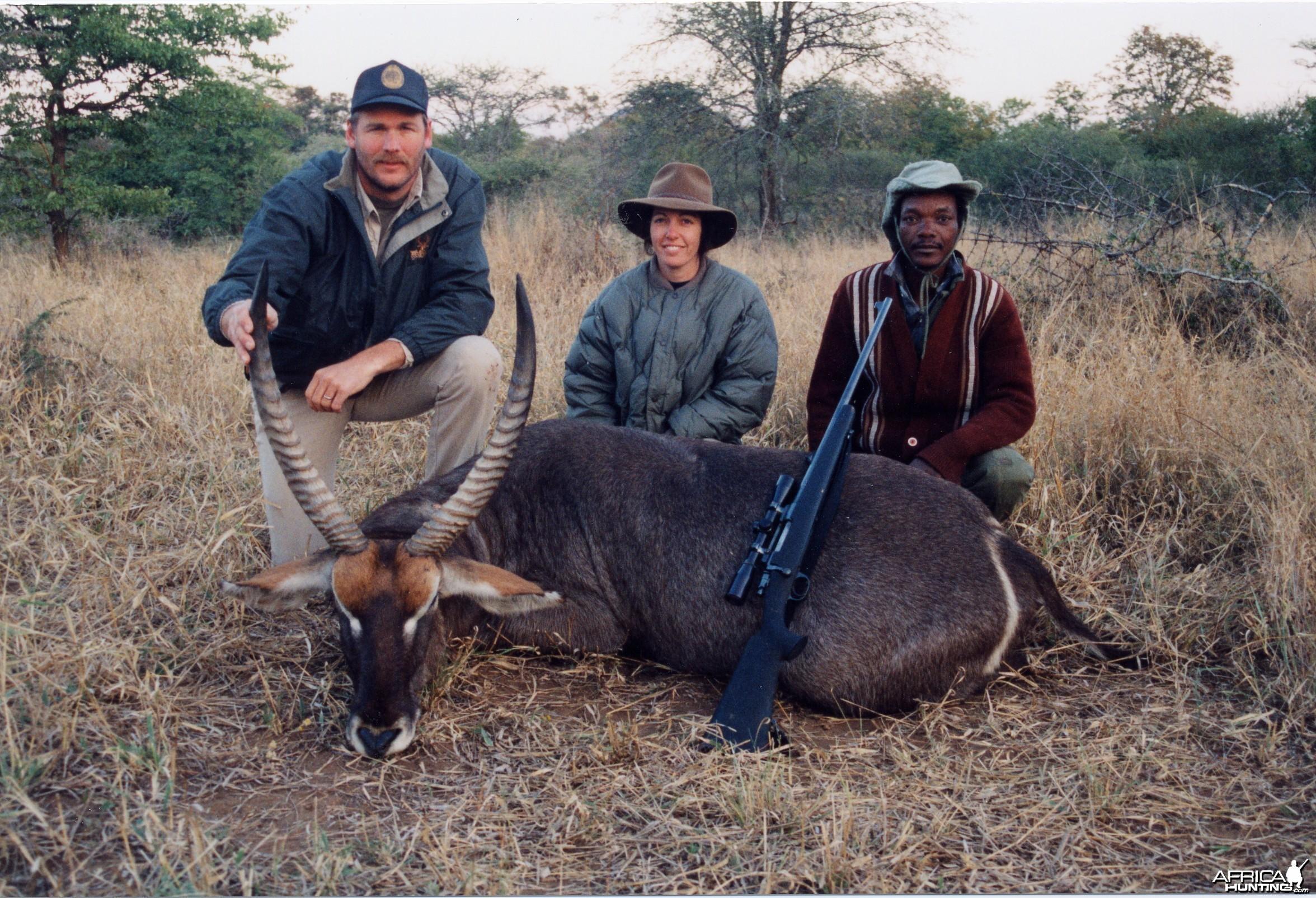 Terry Wagner Waterbuck - Zimbabwe
