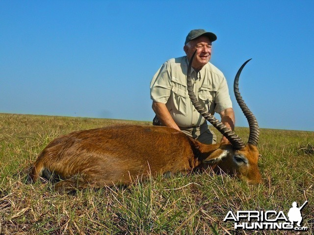 Nice Kafue Lechwe with Spear Safaris