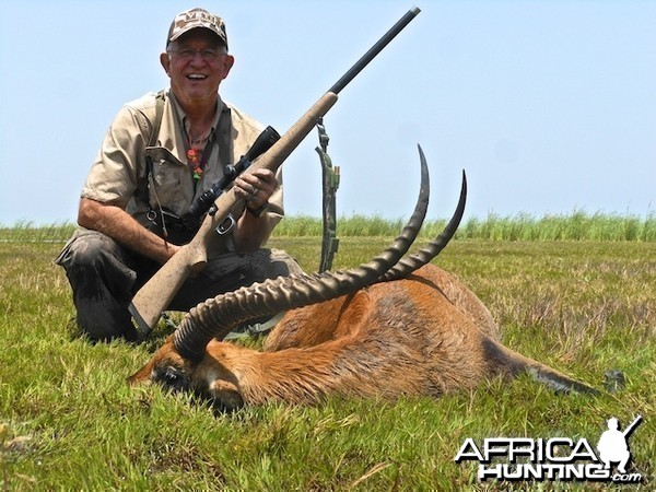 Antother Kafue Lechwe with Spear Safaris