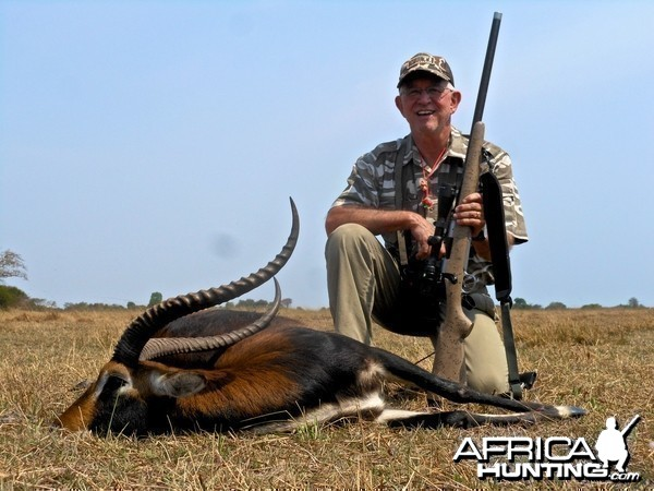 Black Lechwe with Spear Safaris