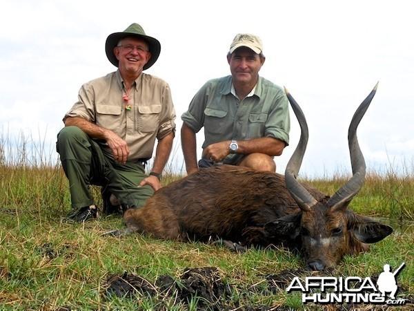 Zambian Sitatunga with Spear Safaris