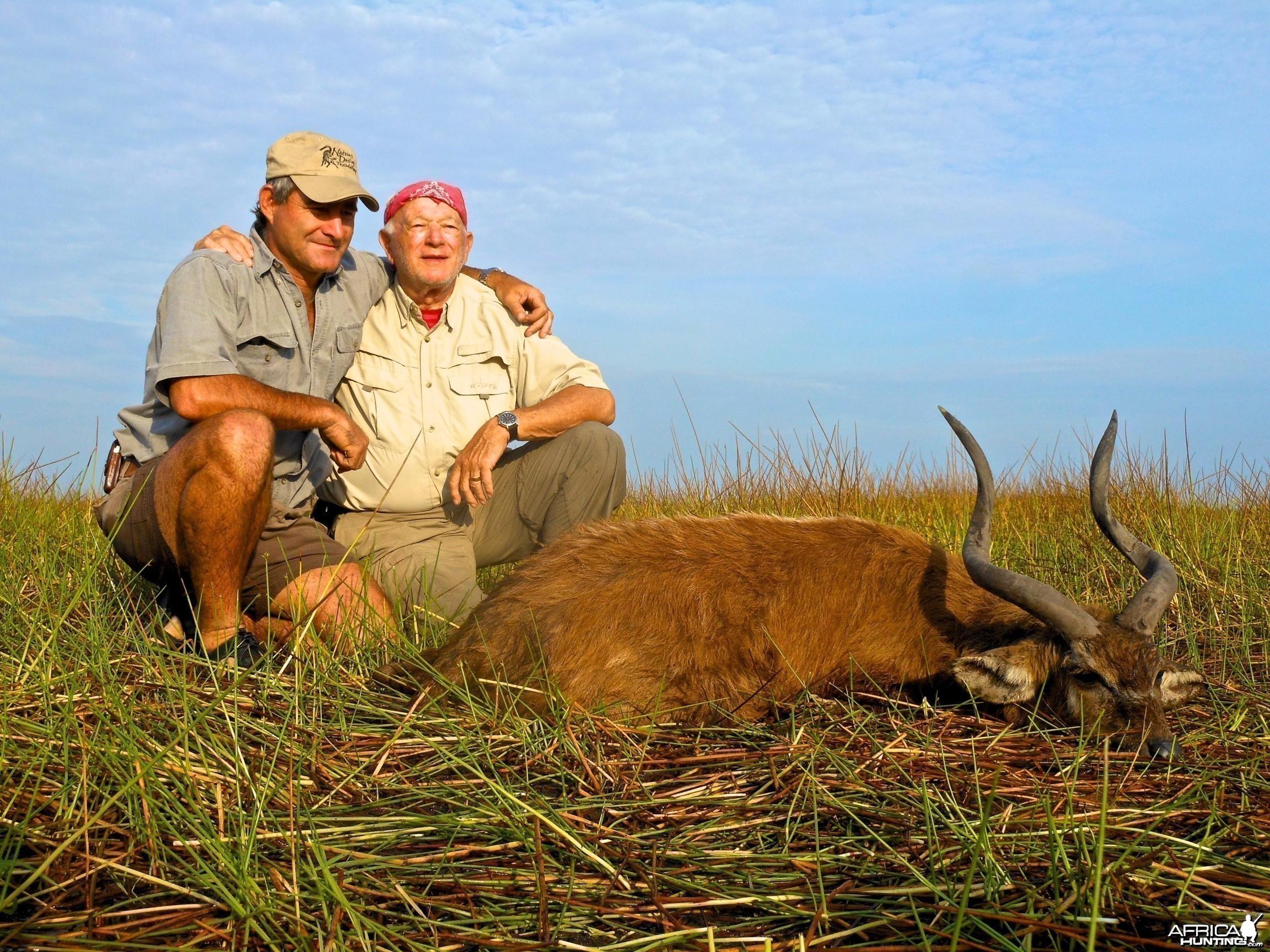 Also Zambia sitatunga with Spear Safaris