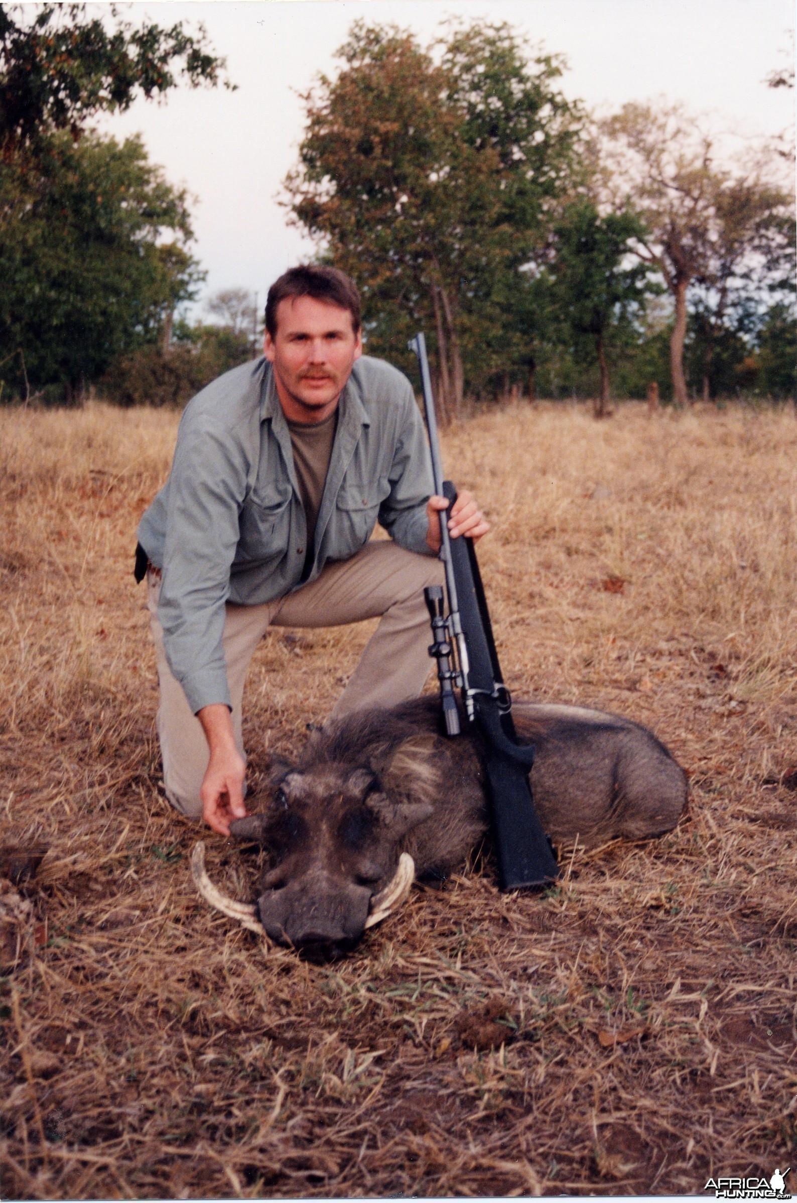 Terry Wagner Warthog - Zimbabwe