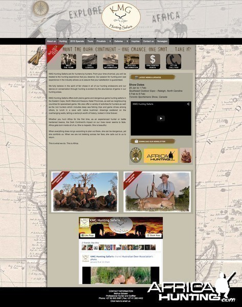 AfricaHunting.com Sponsor