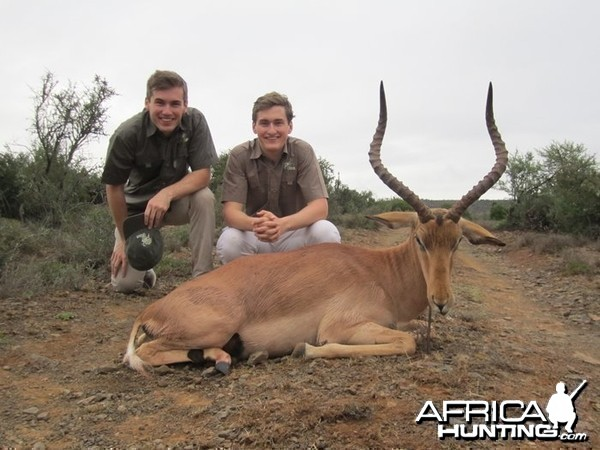 Young Lads  first African Safari with Induna Safaris