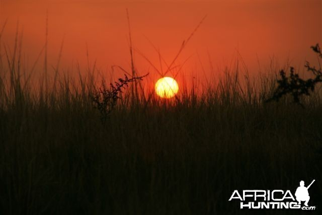 Beautiful Caprivi Sunset