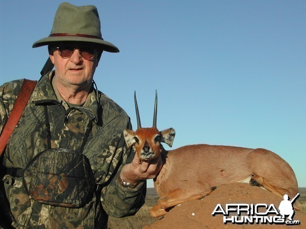 Me and my 2007 Steenbuck.