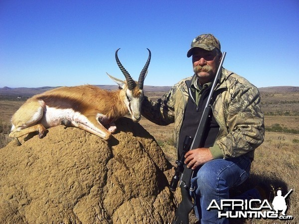Covey and a nice Springbuck in 2013.