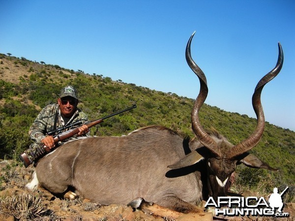 Randy's big 2013 Kudu.