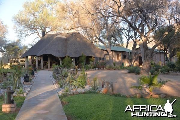 Leopard Legend Hunting Safaris Main Lodge