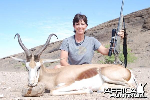 17 inch Namibian Conservancy Springbuck