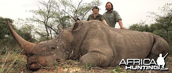 Hunting Rhino Namibia