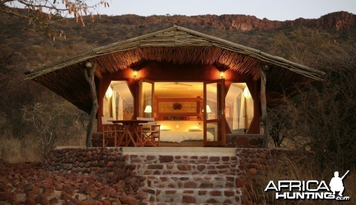 Waterberg Plateau Lodge in Namibia