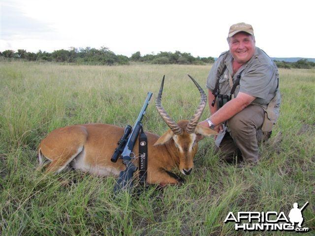 Hunting Uganda Kob