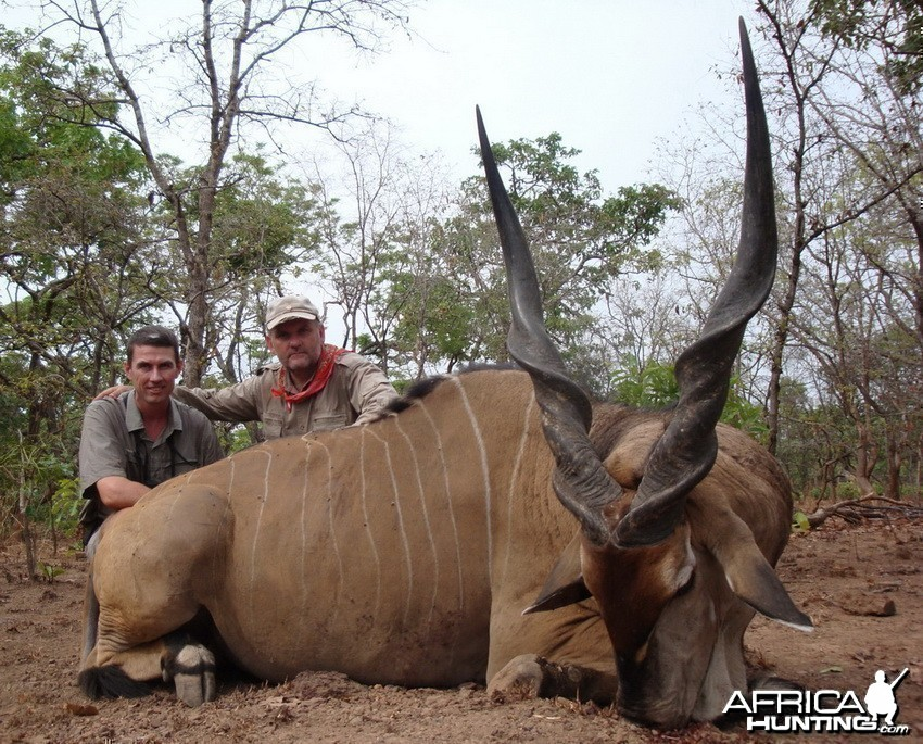 Eland Derby Hunt in C.A.R.