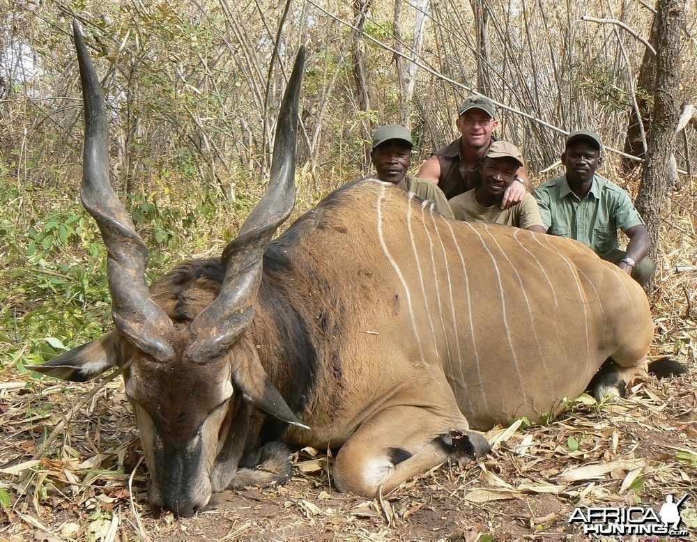 Lord Derby Eland Hunting in C.A.R.