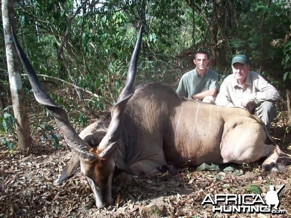 Lord Derby Eland Hunting in C.A.R.