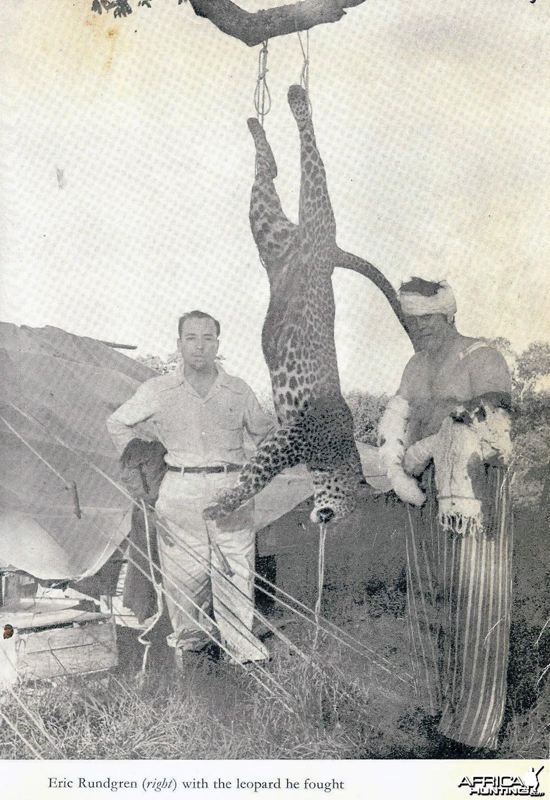 Leopard Mauling