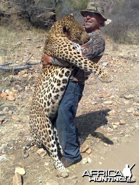 Another Namibian Monster tracked by Sparks Hounds