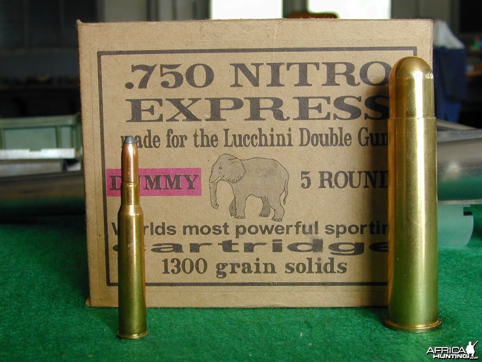 Double Rifle 750 Nitro Express made by Armitalia di Lucchini Sandro & C