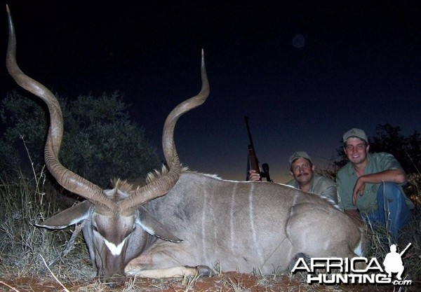 Kudu hunted with Hartzview Hunting Safaris