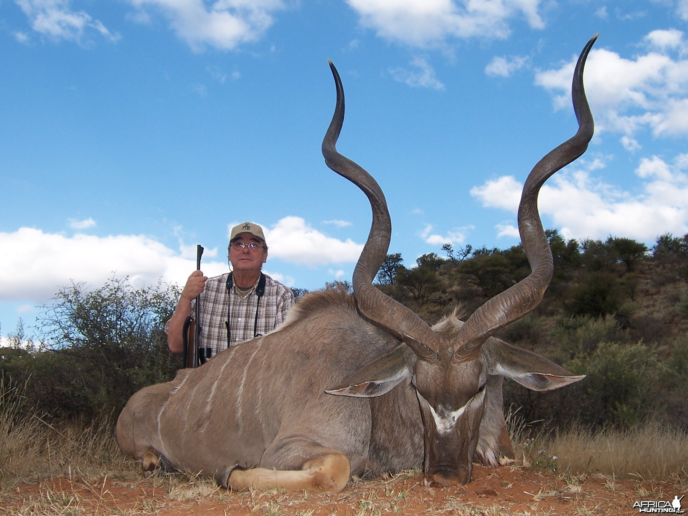 Kudu hunted with Hartzview Hunting Safaris