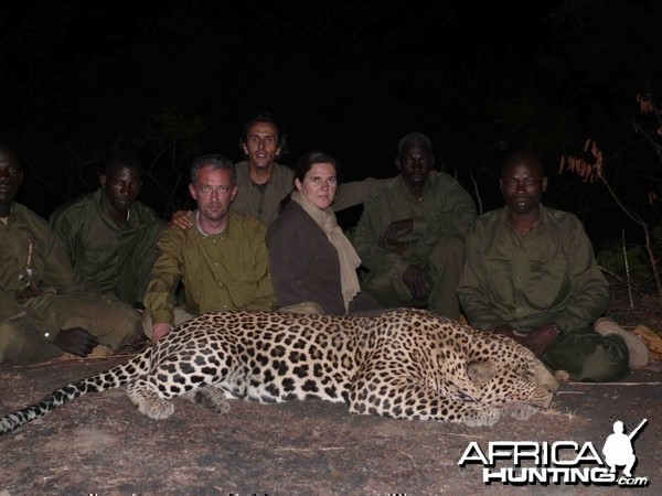 Leopard Hunting in CAR with Safaria