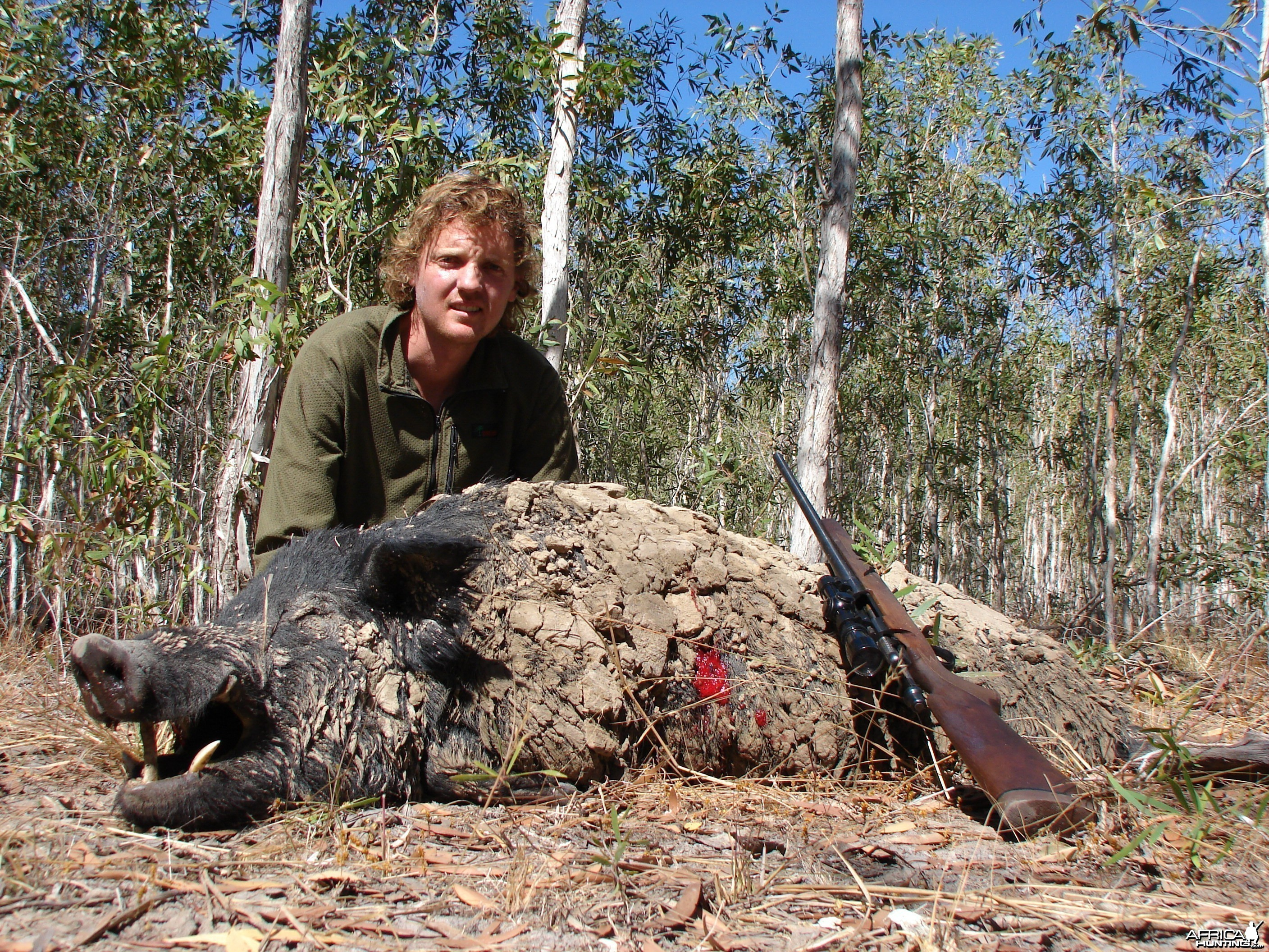 Trophy Boar Hunted in Australia