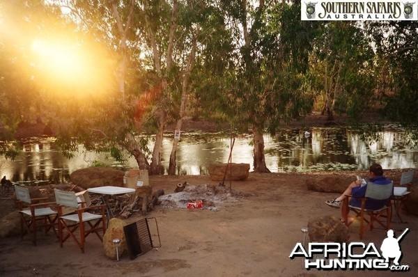 Buffalo camp, Arnhemland, Australia.