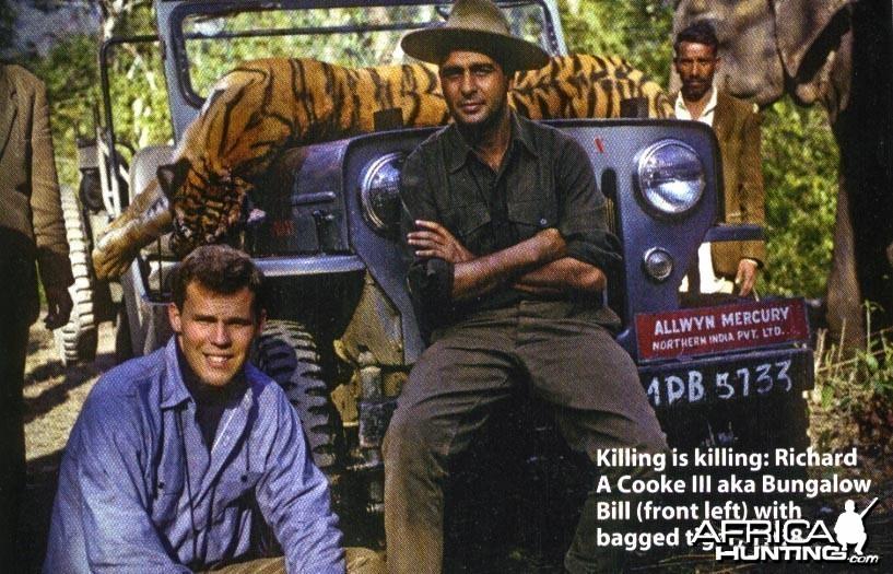 Hunting Tiger - India 1968