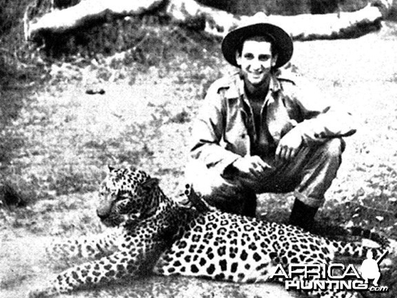 Kenneth Anderson Son with Panther