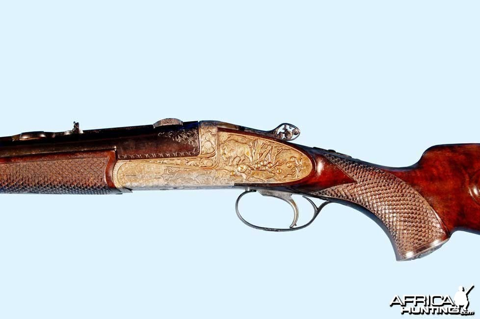 Joseph Winkler Custom .375 & 30.06 Double Rifle