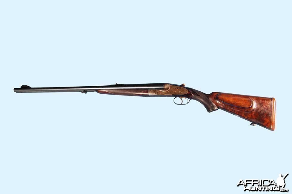 .465 Holland & Holland Double Barrel Rifle