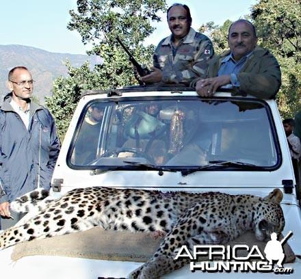 Man-eater Leopard India